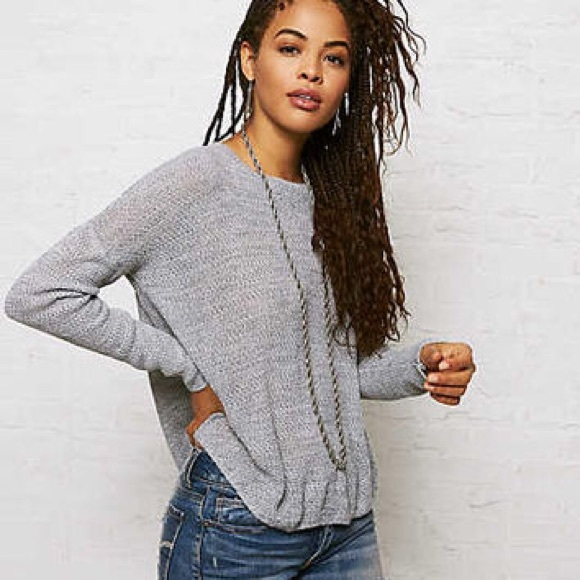 DONT ASK WHY (AEO) Jegging Grey. Knit. Sweater